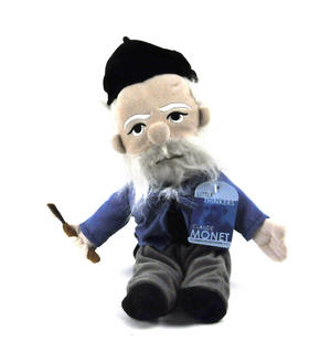 Claude Monet Soft Toy - Little Thinkers Doll Thumbnail 2