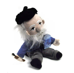 Claude Monet Soft Toy - Little Thinkers Doll Thumbnail 3