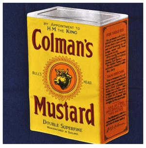 Colman's Mustard Retro Classic  Meat Needs Mustard Apron Thumbnail 2