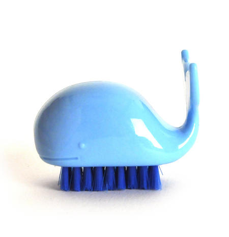 Whale Nail Brush -  Random Colours