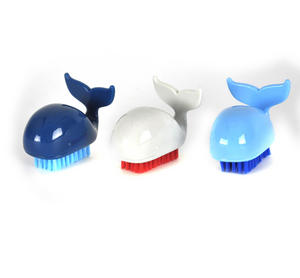 Whale Nail Brush -  Random Colours Thumbnail 2