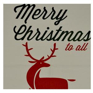 Christmas Reindeer Gift Sack Thumbnail 2