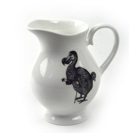 Alice In Wonderland The Dodo 'Begin at the Beginning' Fine Porcelain Creamer / Milk Jug