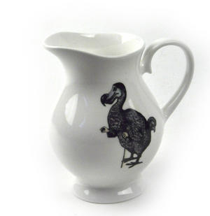 Alice In Wonderland The Dodo 'Begin at the Beginning' Fine Porcelain Creamer / Milk Jug Thumbnail 1