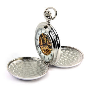 Celtic Square Knot with Gemstone Pocket Watch Thumbnail 2