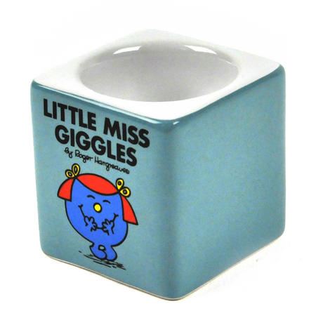 Little Miss Giggles Egg Cup - The Mr Men And Little Miss Collection