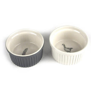 Round Ramekin Set  - The Mary Berry Collection Thumbnail 3
