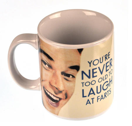 You Are Never Too Old To Laugh At Farts Mug