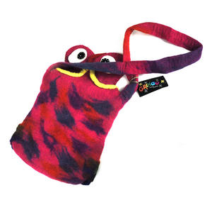Fairtrade Felt Owl Shoulder Bag Thumbnail 6