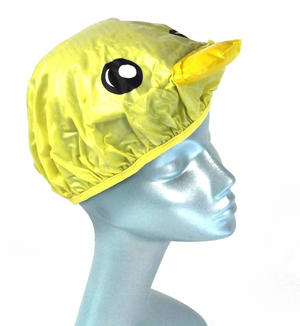 Yellow Duck Bath & Shower Cap / Swim Cap Thumbnail 1