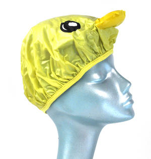 Yellow Duck Bath & Shower Cap / Swim Cap Thumbnail 2