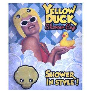 Yellow Duck Bath & Shower Cap / Swim Cap Thumbnail 5