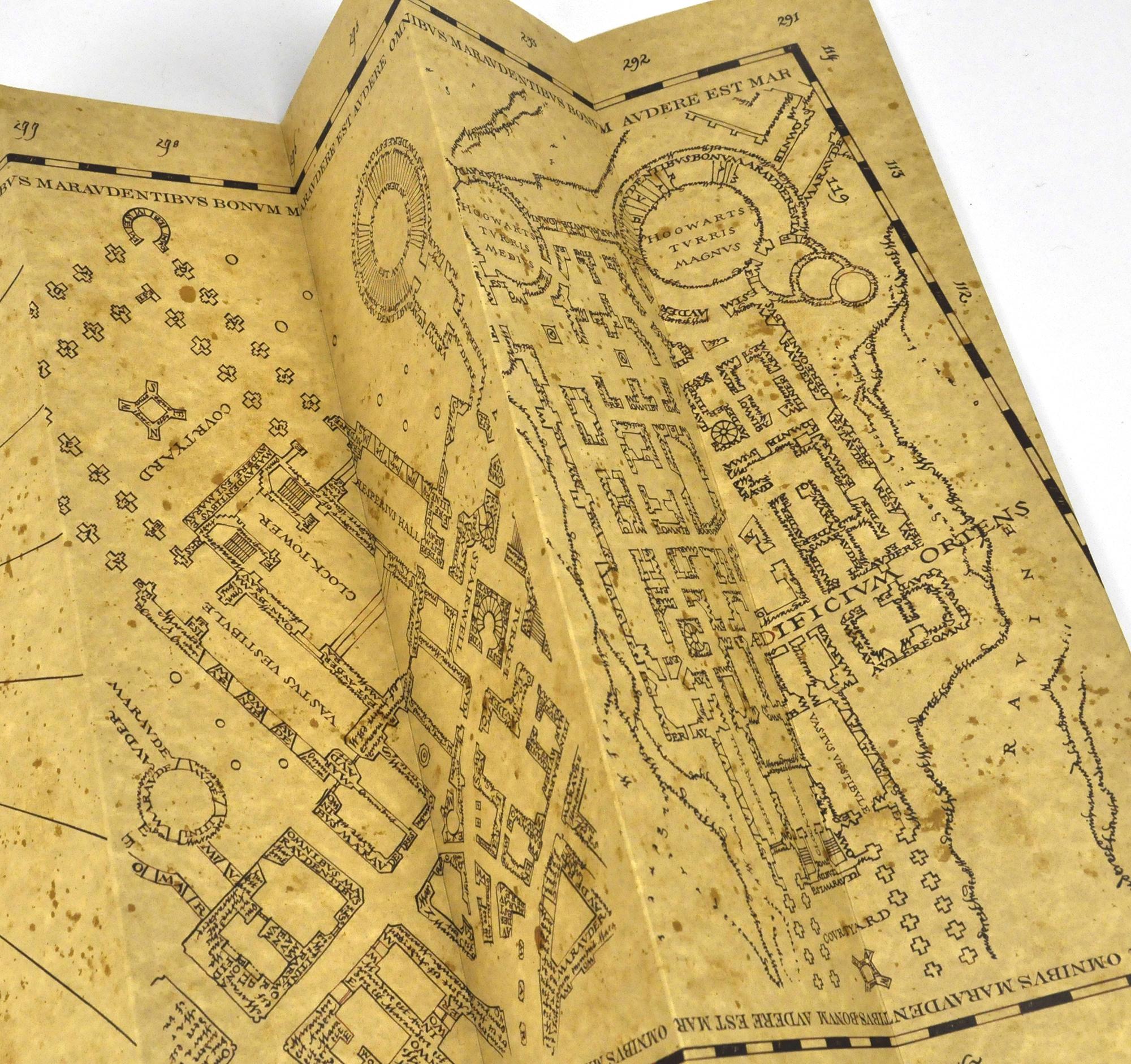 Harry Potter Replica The Marauder Map