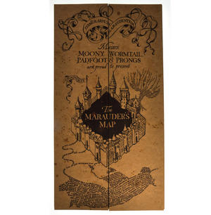 Harry Potter Replica The Marauder Map Thumbnail 5