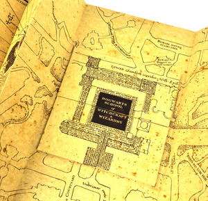 Harry Potter Replica The Marauder Map Thumbnail 7
