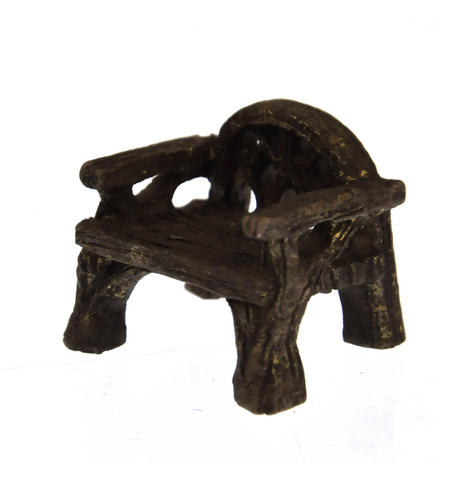 Woodland Rustic Chair - Fiddlehead Fairy Garden Collection