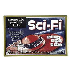 Sci Fi Fridge Magnet Poetry Set - Science Fiction Fridge Poetry Thumbnail 1