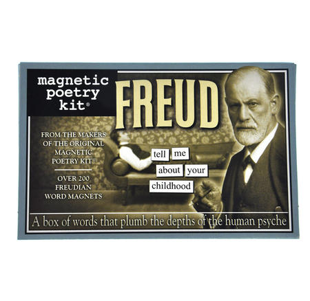 Freud Fridge Magnet Poetry Set - Psychoanalysis Fridge Poetry