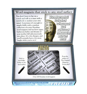 Freud Fridge Magnet Poetry Set - Psychoanalysis Fridge Poetry Thumbnail 2