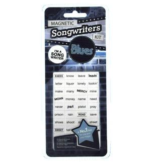 Blues Magnet Lyrics Set - Songwriters Kit Thumbnail 2