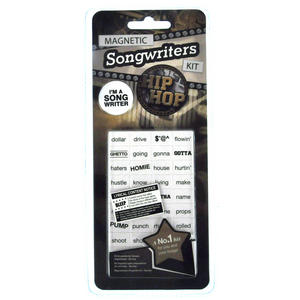 Hip Hop Fridge Magnet Lyrics Set - Songwriters Kit Thumbnail 2