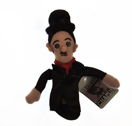 Charlie Chaplin Finger Puppet & Fridge Magnet