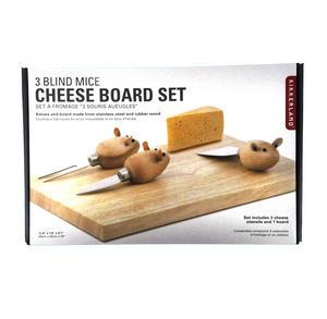 3 Blind Mice Cheese Board Set Thumbnail 3