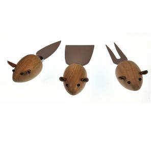 3 Blind Mice Cheese Board Set Thumbnail 5