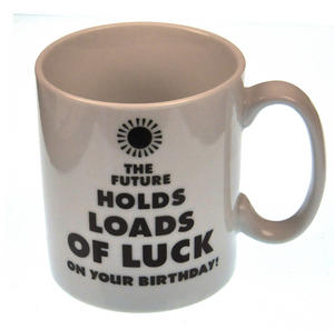 Future Luck  > Old as Fuck - Disappearing Letters Heat Change Mug Thumbnail 2