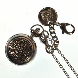 Ladies Pendant Watch With Celtic Knot Thumbnail 1