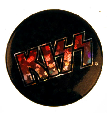Kiss Badge - Holographic