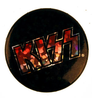Kiss Badge - Holographic Thumbnail 1