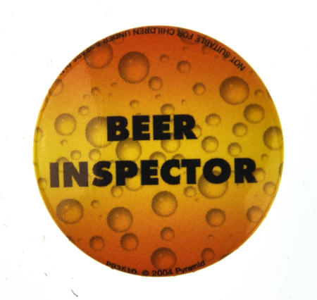 Beer Inspector Badge