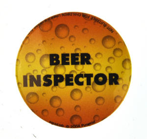 Beer Inspector Badge Thumbnail 1