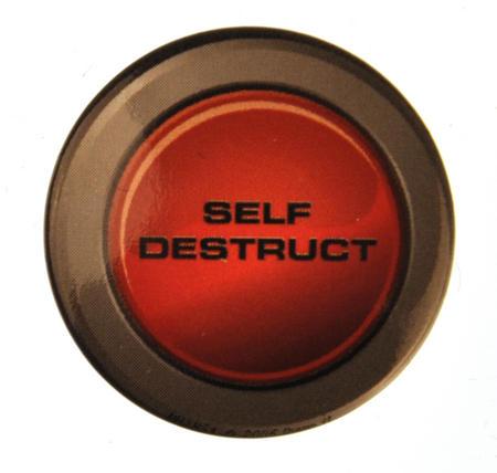 Self Destruct Badge