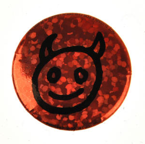 Horned Devil Badge Thumbnail 1