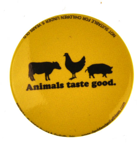 Animals Taste Good Badge