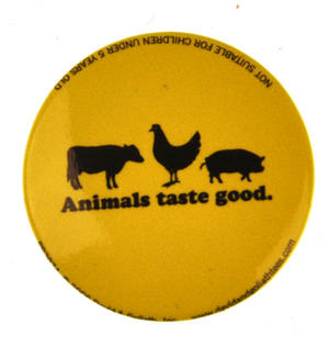 Animals Taste Good Badge Thumbnail 1