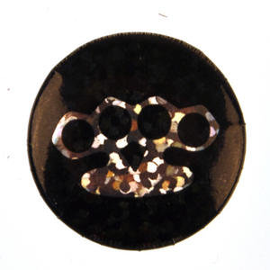 Knuckleduster Badge - Holographic Thumbnail 1
