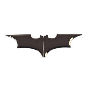 Batman Batarang Gunmetal Money Clip Thumbnail 1