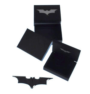 Batman Batarang Gunmetal Money Clip Thumbnail 6