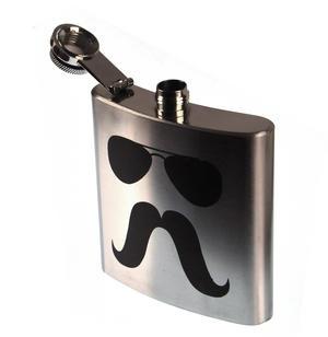 Zapata Moustache Hip Flask Thumbnail 2