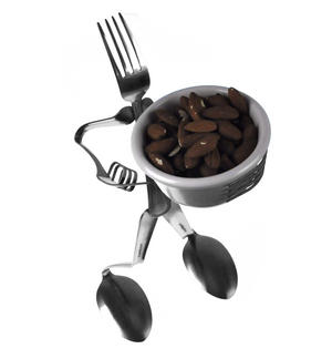 Nibbles Dish Fork - Forked Up Art Thumbnail 2