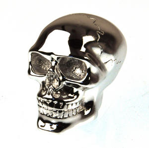 Chrome Skull Gear Knob Thumbnail 1