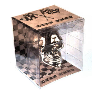 Chrome Skull Gear Knob Thumbnail 4