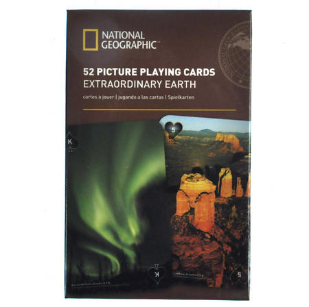 Extraordinary Earth - National Geographic 52 Picture Playing Cards