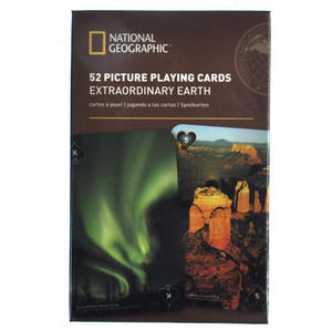 Extraordinary Earth - National Geographic 52 Picture Playing Cards Thumbnail 1