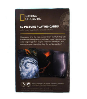 Extraordinary Earth - National Geographic 52 Picture Playing Cards Thumbnail 2