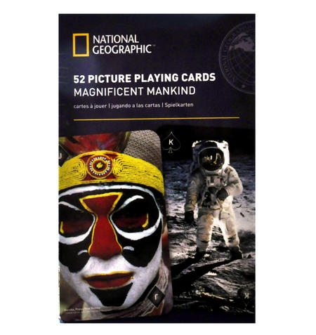 Magnificent Mankind - National Geographic 52 Picture Playing Cards