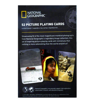 Magnificent Mankind - National Geographic 52 Picture Playing Cards Thumbnail 3